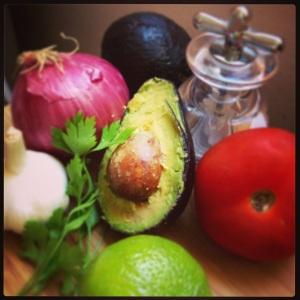 ingredientes de guacomole