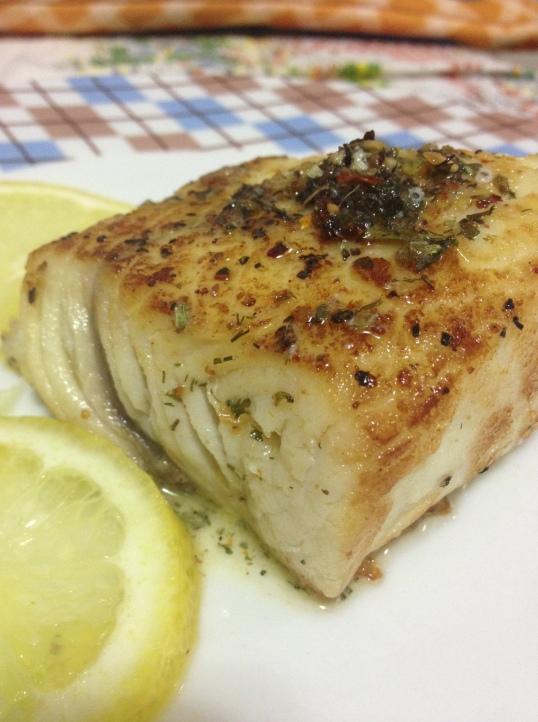 bacalhau chimichurri